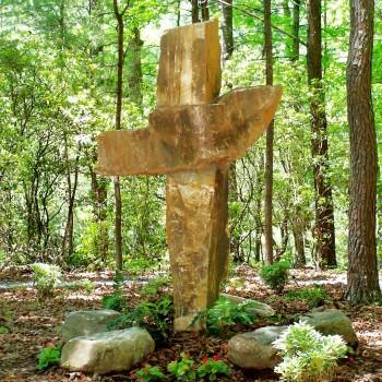 Stone Cross at Hinton Rural Life Center