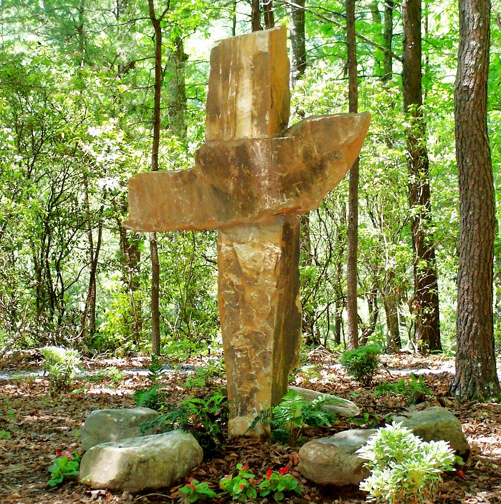 Stone Cross at Hinton Rural Life Center