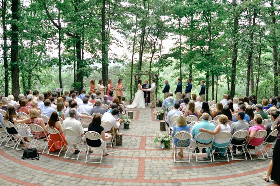 Wedding on Labyrinth WNC