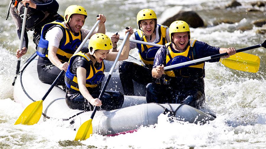 white water rafting wnc