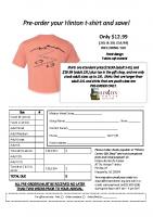 T-Shirt pre-order 2021